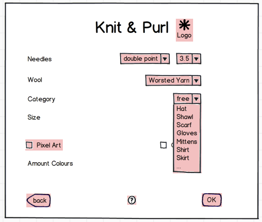 Knitting Pattern Generator From Picture : Knit & Purl   The Knitting Pattern Generator   Butterflies & Hurricanes