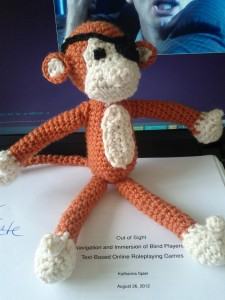 monkey on thesis